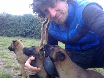 Adiestramiento y educación canina a domicilio de cachorros